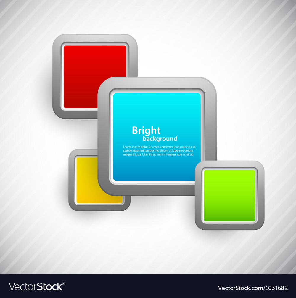 Background with metalic squares vector | Price: 1 Credit (USD $1)
