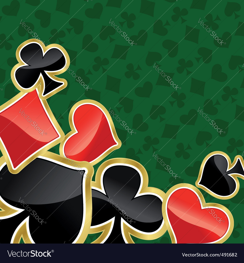 Poker background vector | Price: 1 Credit (USD $1)