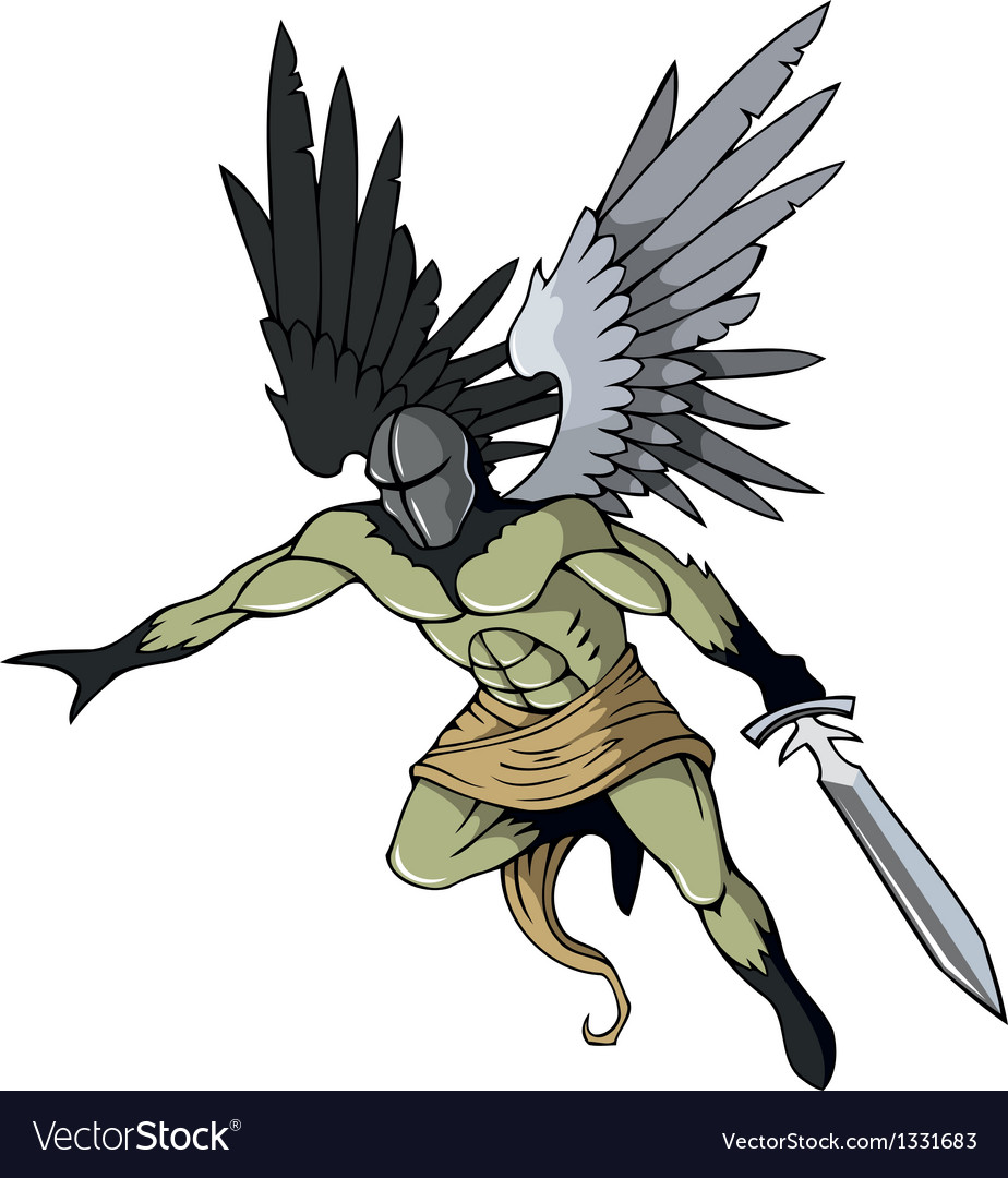 Dark angel vector | Price: 3 Credit (USD $3)