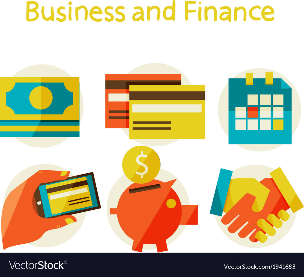 Finance and business concept vector | Price: 1 Credit (USD $1)