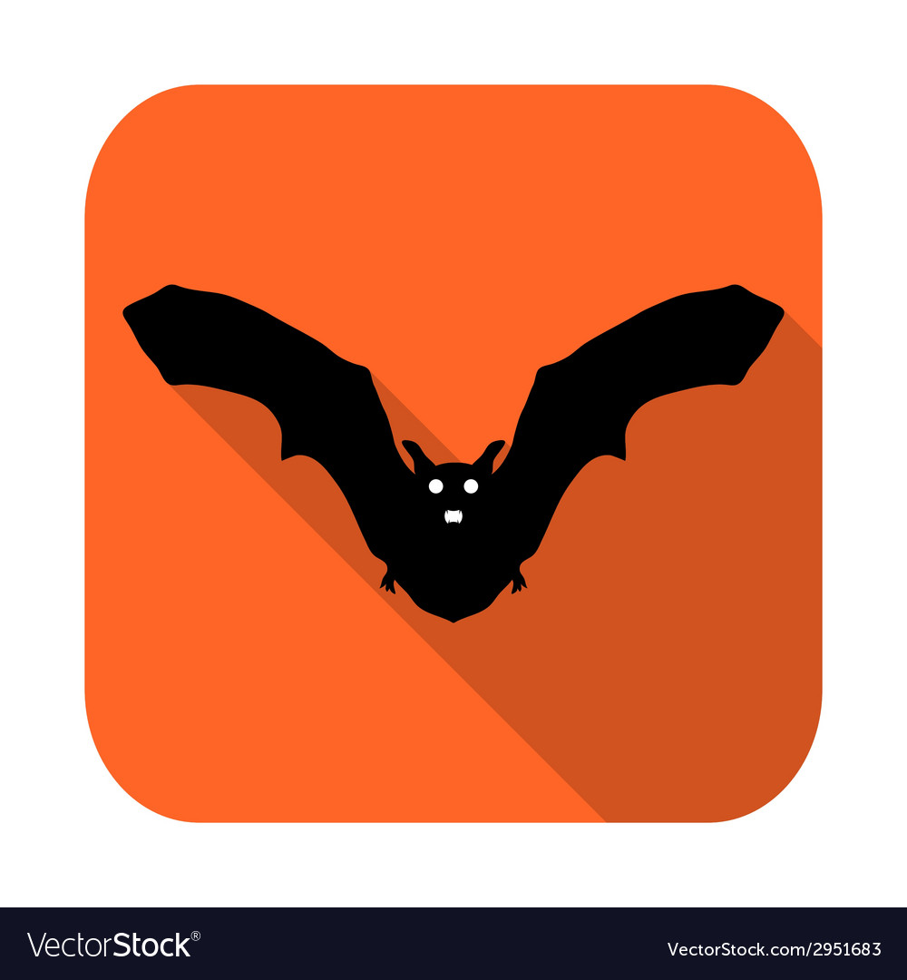 Silhouette bat vector | Price: 1 Credit (USD $1)