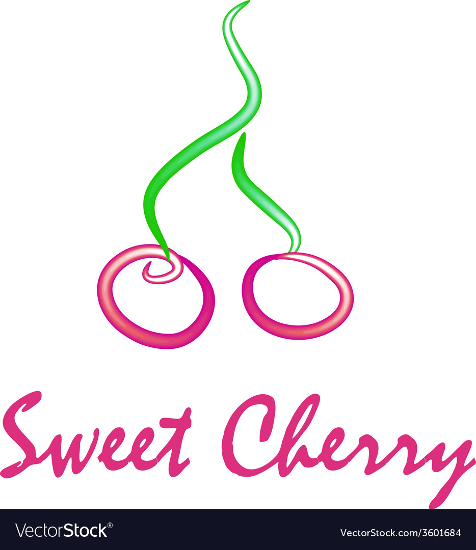 Sweet cherry vector   Price: 1 Credit (USD $1)