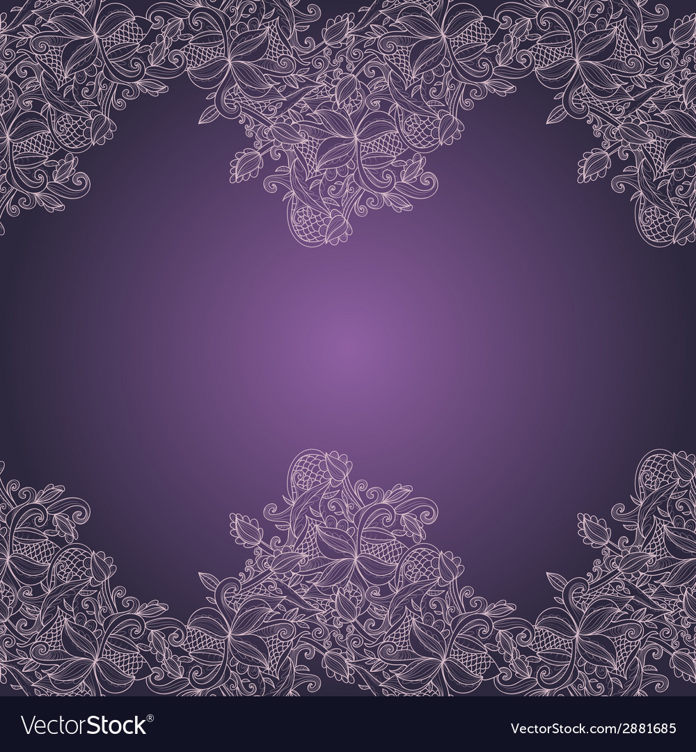 Border with abstract hand-drawn pattern vector   Price: 1 Credit (USD $1)