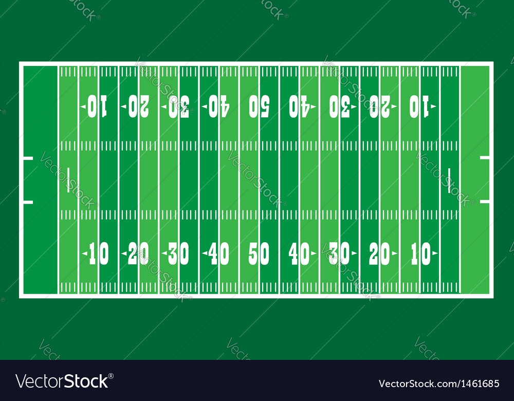 Field for american football vector | Price: 1 Credit (USD $1)