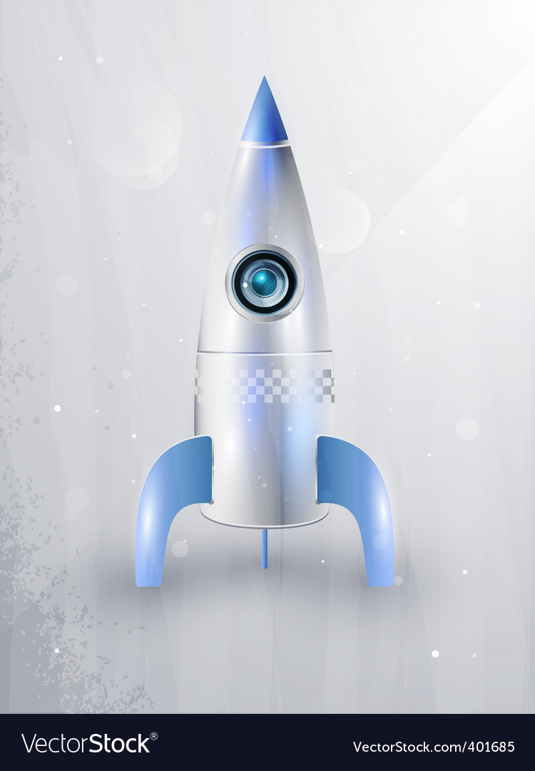 Icon of rockets for space vector | Price: 1 Credit (USD $1)