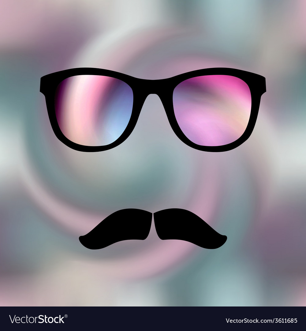 Pink glass vector | Price: 1 Credit (USD $1)