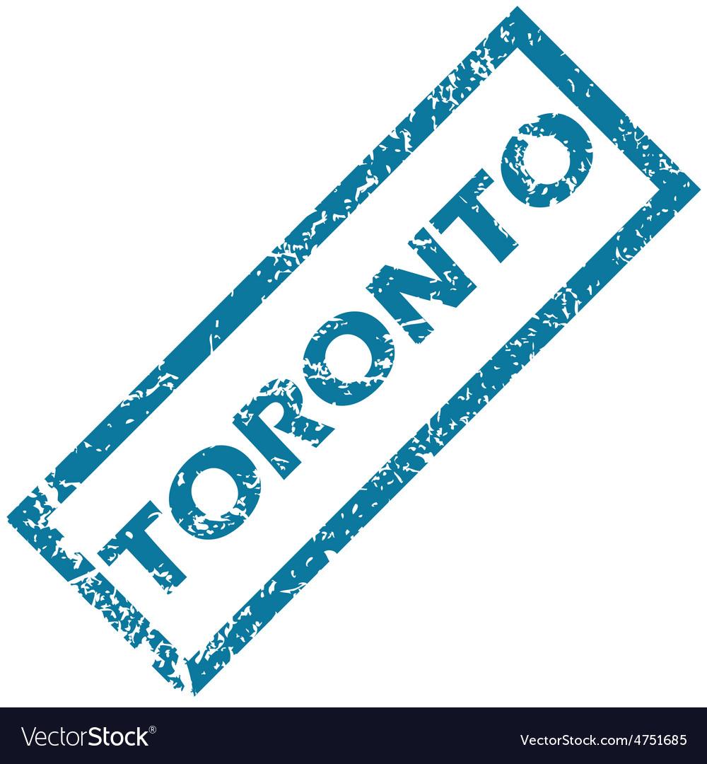 Toronto rubber stamp vector | Price: 1 Credit (USD $1)
