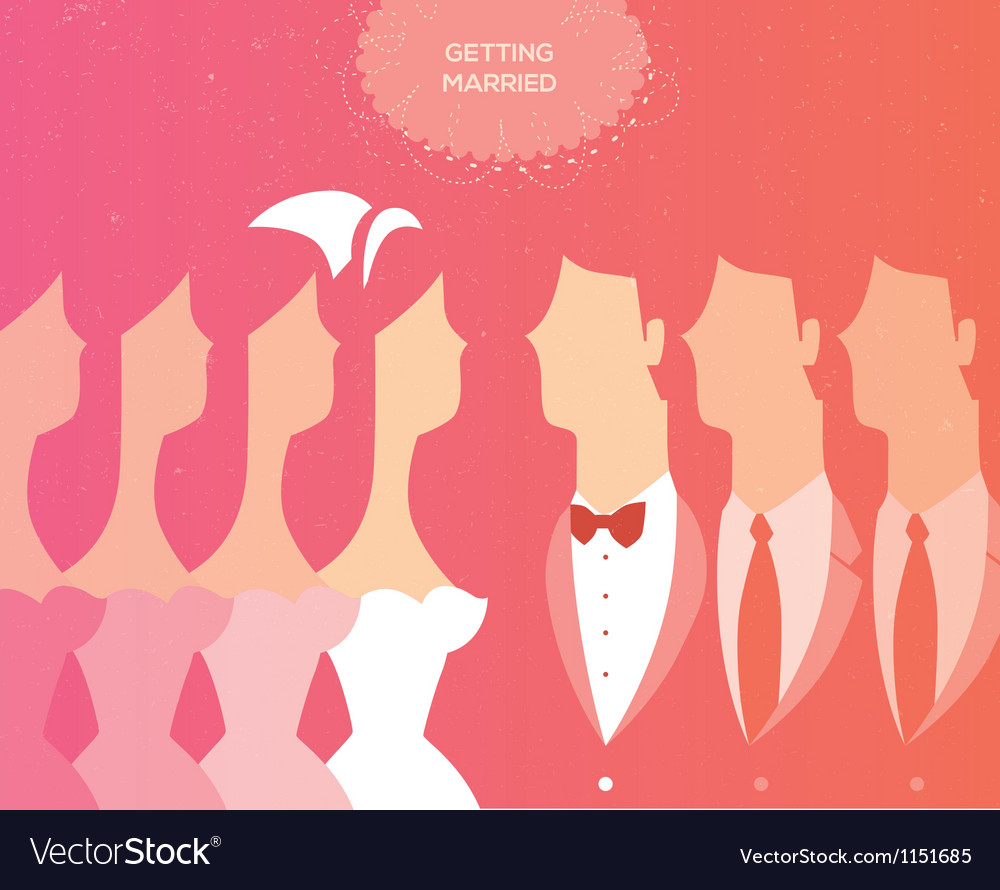 Wedding ceremony invitation vector | Price: 1 Credit (USD $1)