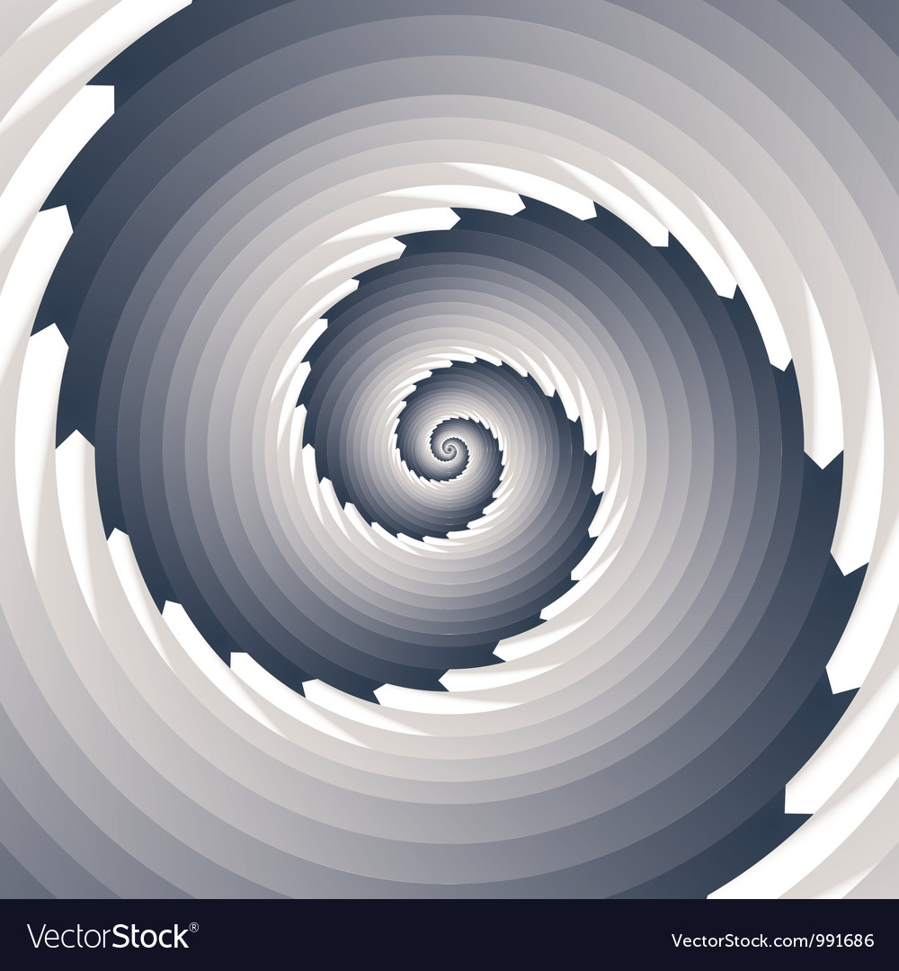 Infinite spiral vector | Price: 1 Credit (USD $1)