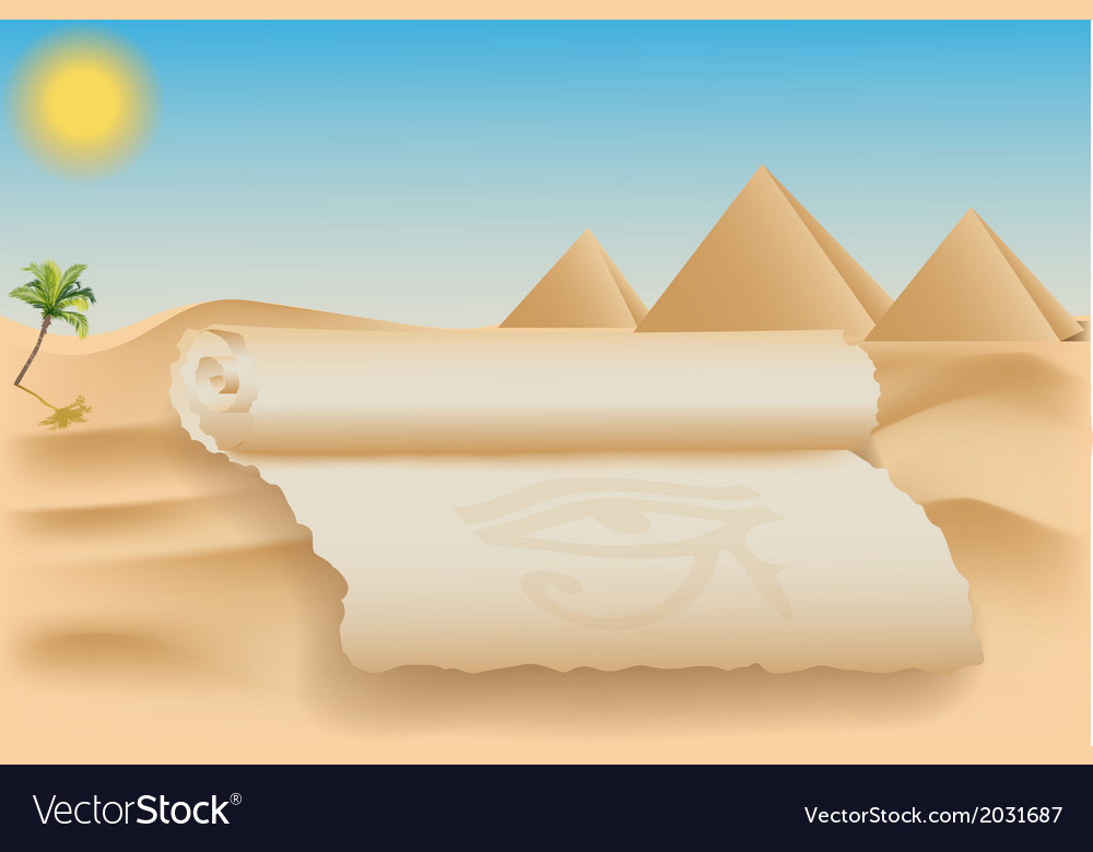 Egypt card vector | Price: 1 Credit (USD $1)