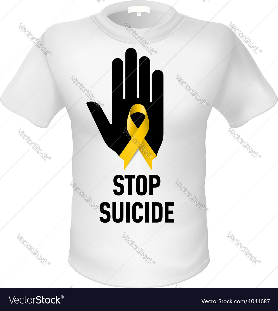 Tshirt stop suicide vector | Price: 1 Credit (USD $1)