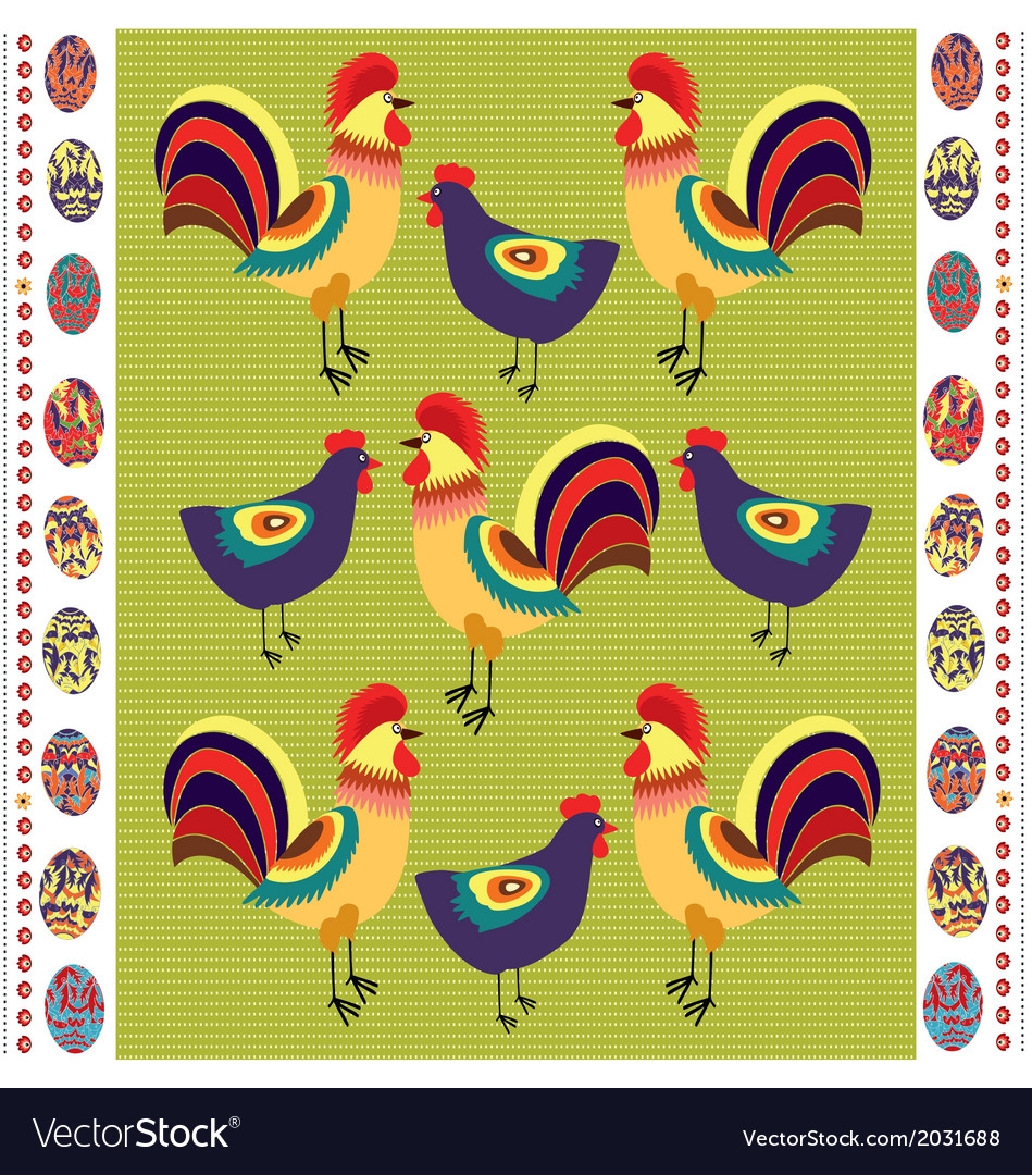 Easter polish folk vector | Price: 1 Credit (USD $1)
