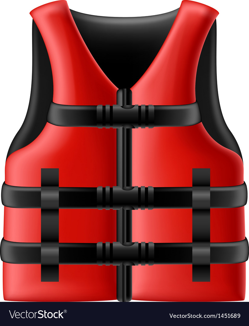 Life jacket vector | Price: 1 Credit (USD $1)