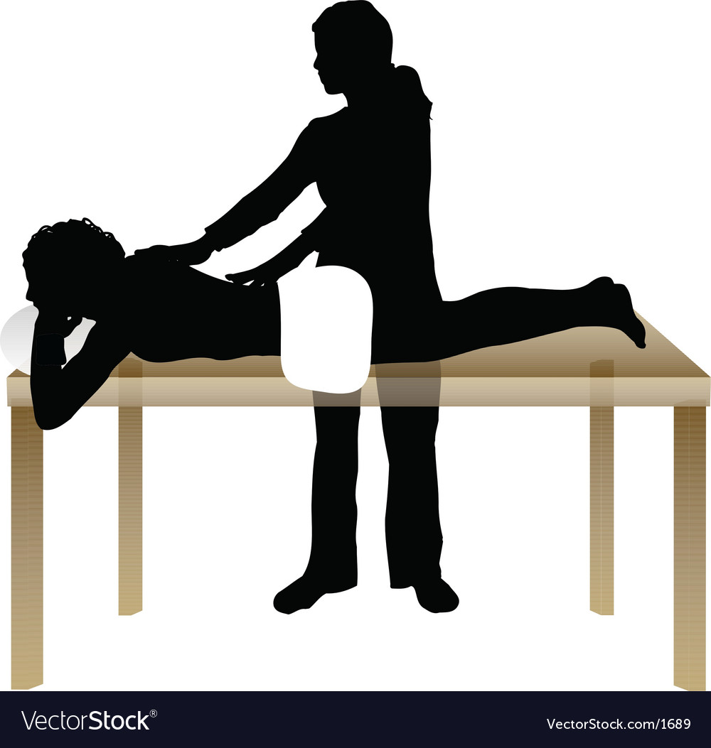 Massage design vector | Price: 1 Credit (USD $1)