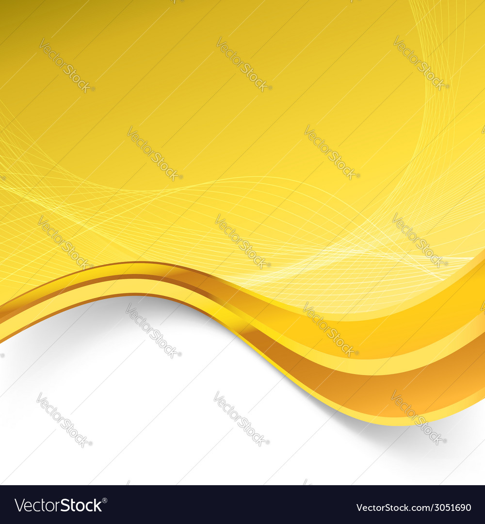 Golden border luxury swoosh wave template vector | Price: 1 Credit (USD $1)
