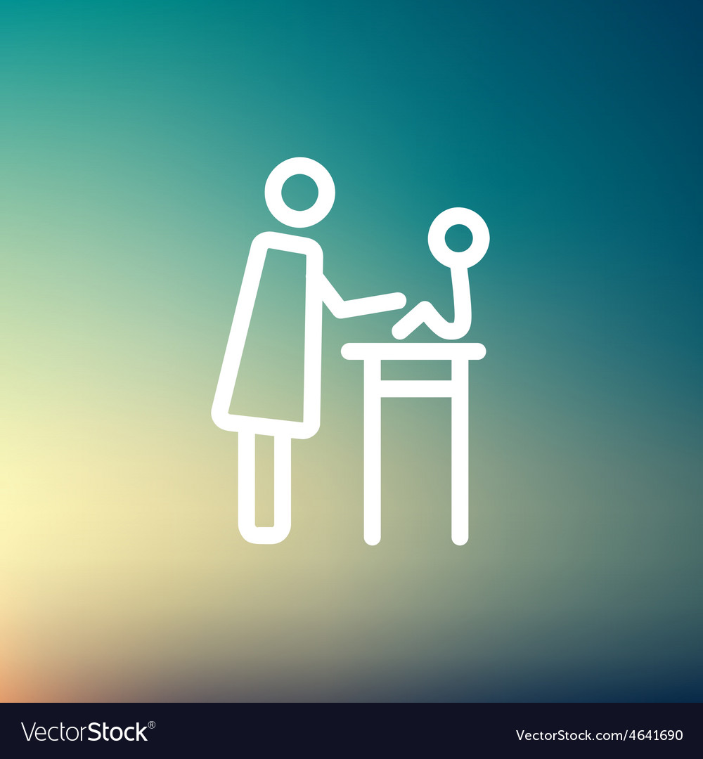 Mother taking care of her baby sitting on high vector   Price: 1 Credit (USD $1)