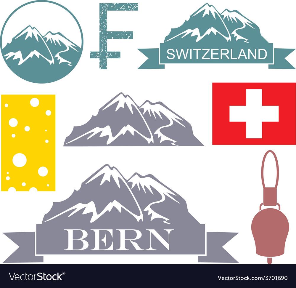 Switzerland vector | Price: 1 Credit (USD $1)