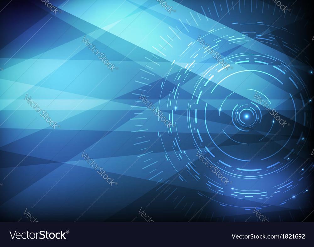 Computer scientific background template vector | Price: 1 Credit (USD $1)