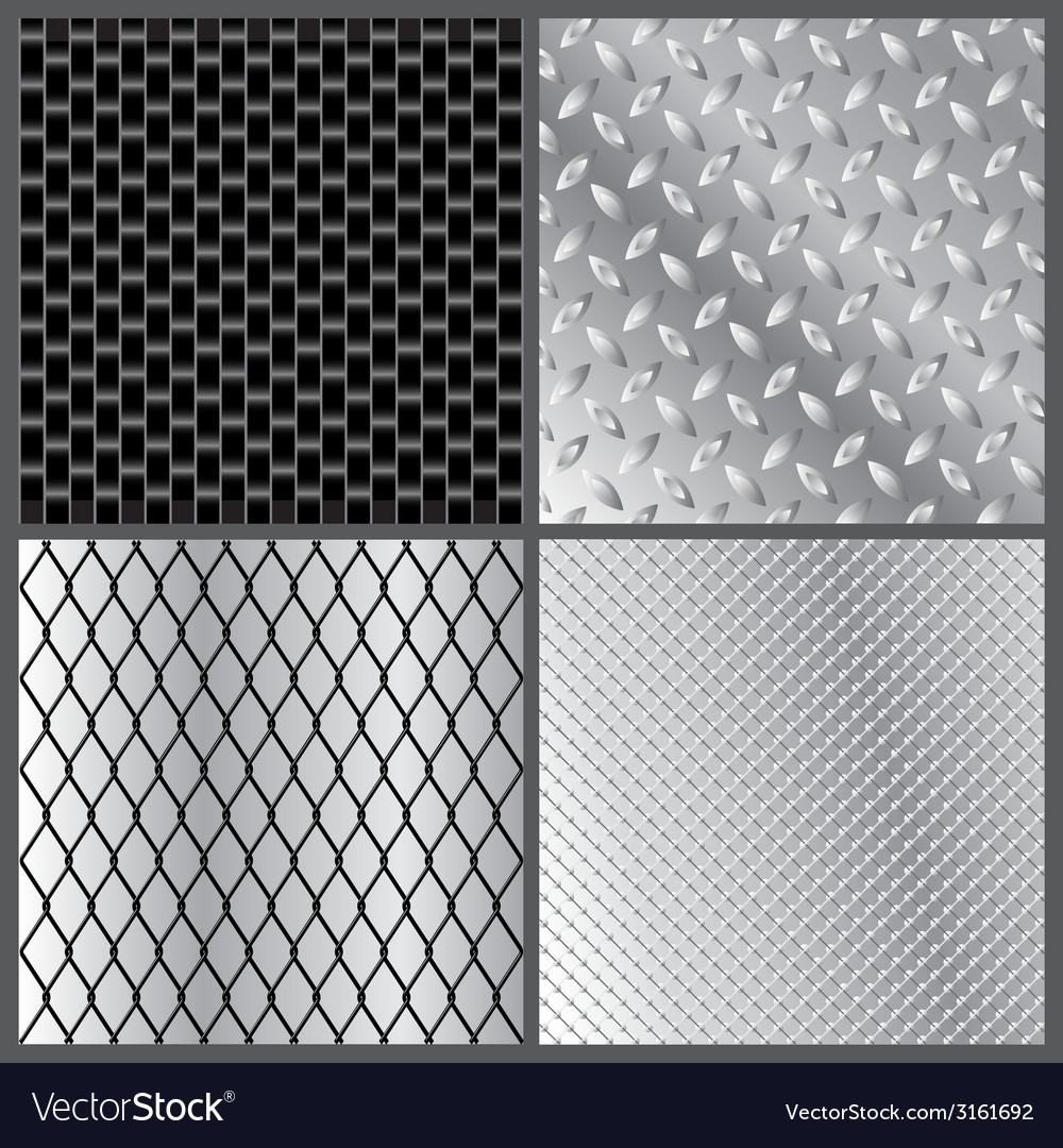 Grey metal textures vector | Price: 1 Credit (USD $1)