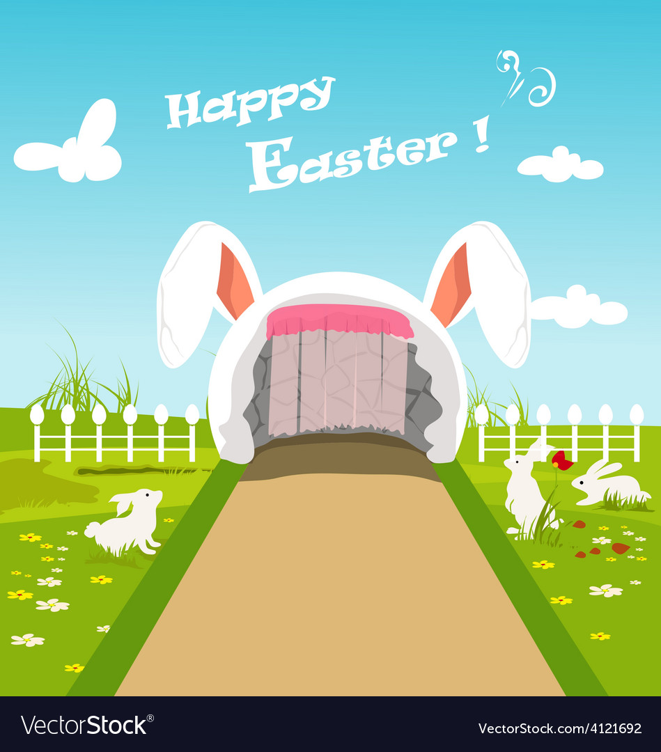 Happy easter vector | Price: 3 Credit (USD $3)