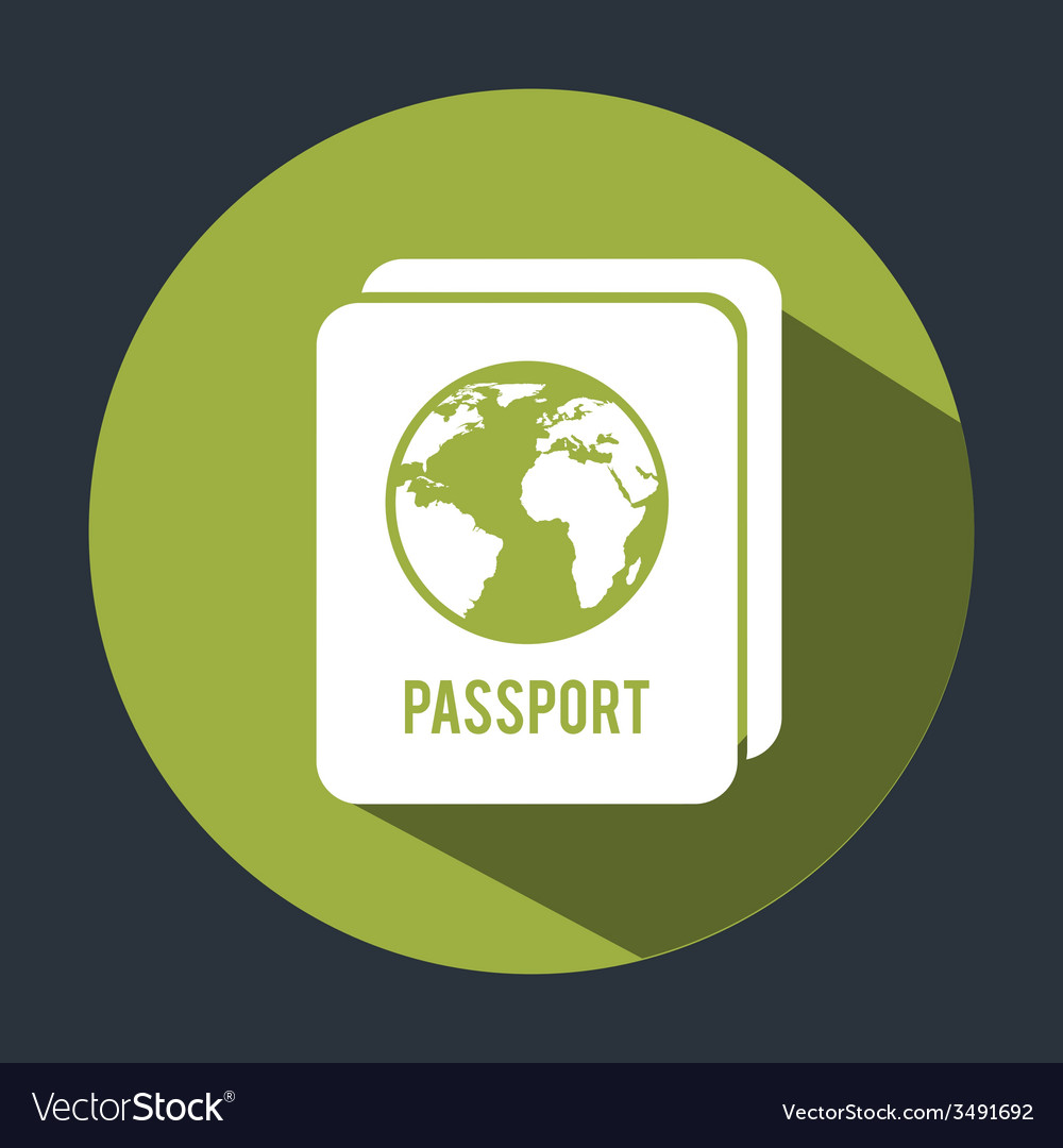 Passport design vector | Price: 1 Credit (USD $1)