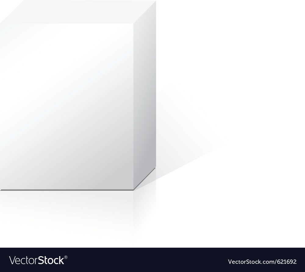 Product box vector | Price: 1 Credit (USD $1)