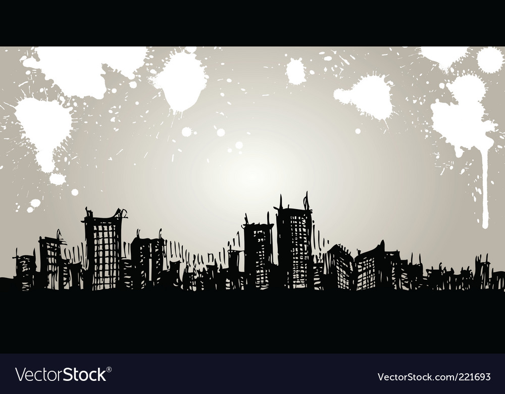 Abstract building vector | Price: 1 Credit (USD $1)