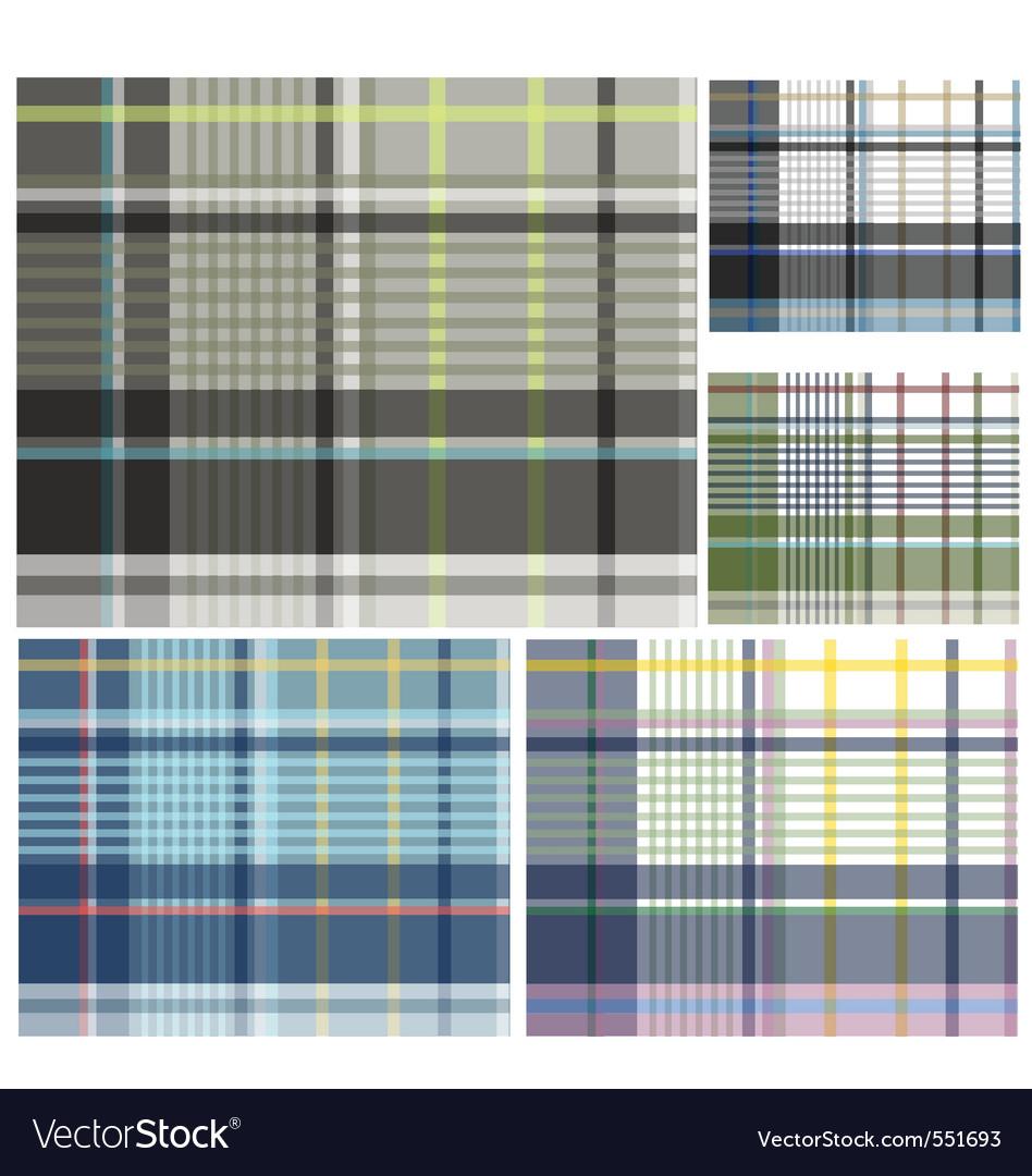 Check pattern design vector | Price: 1 Credit (USD $1)