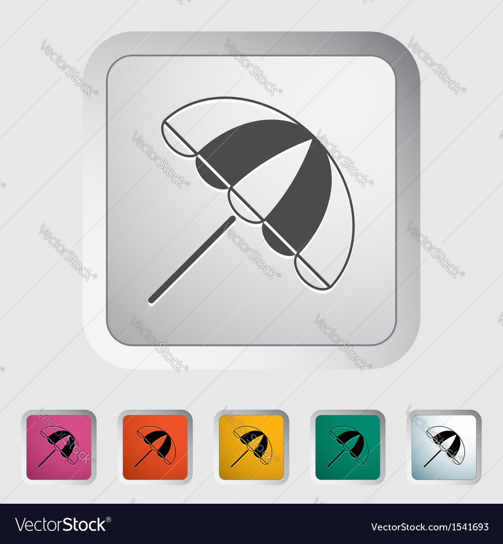 Parasol vector | Price: 1 Credit (USD $1)