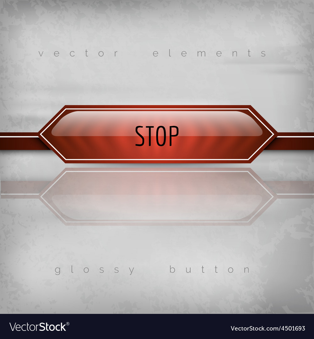 Stop button vector   Price: 1 Credit (USD $1)