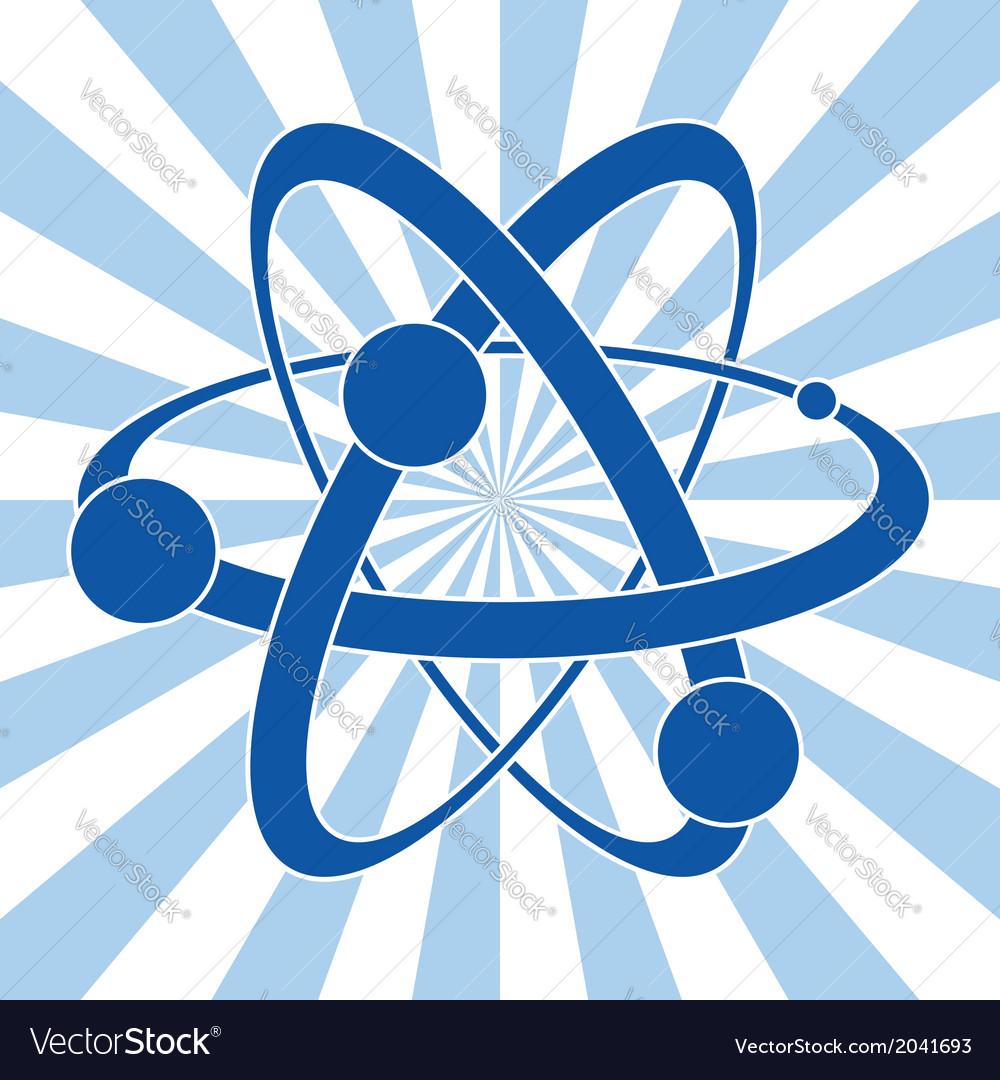 Symbol of atom vector | Price: 1 Credit (USD $1)