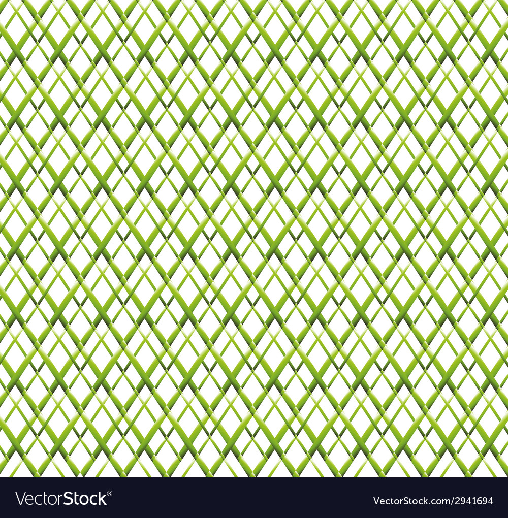 Abstract green grid background vector