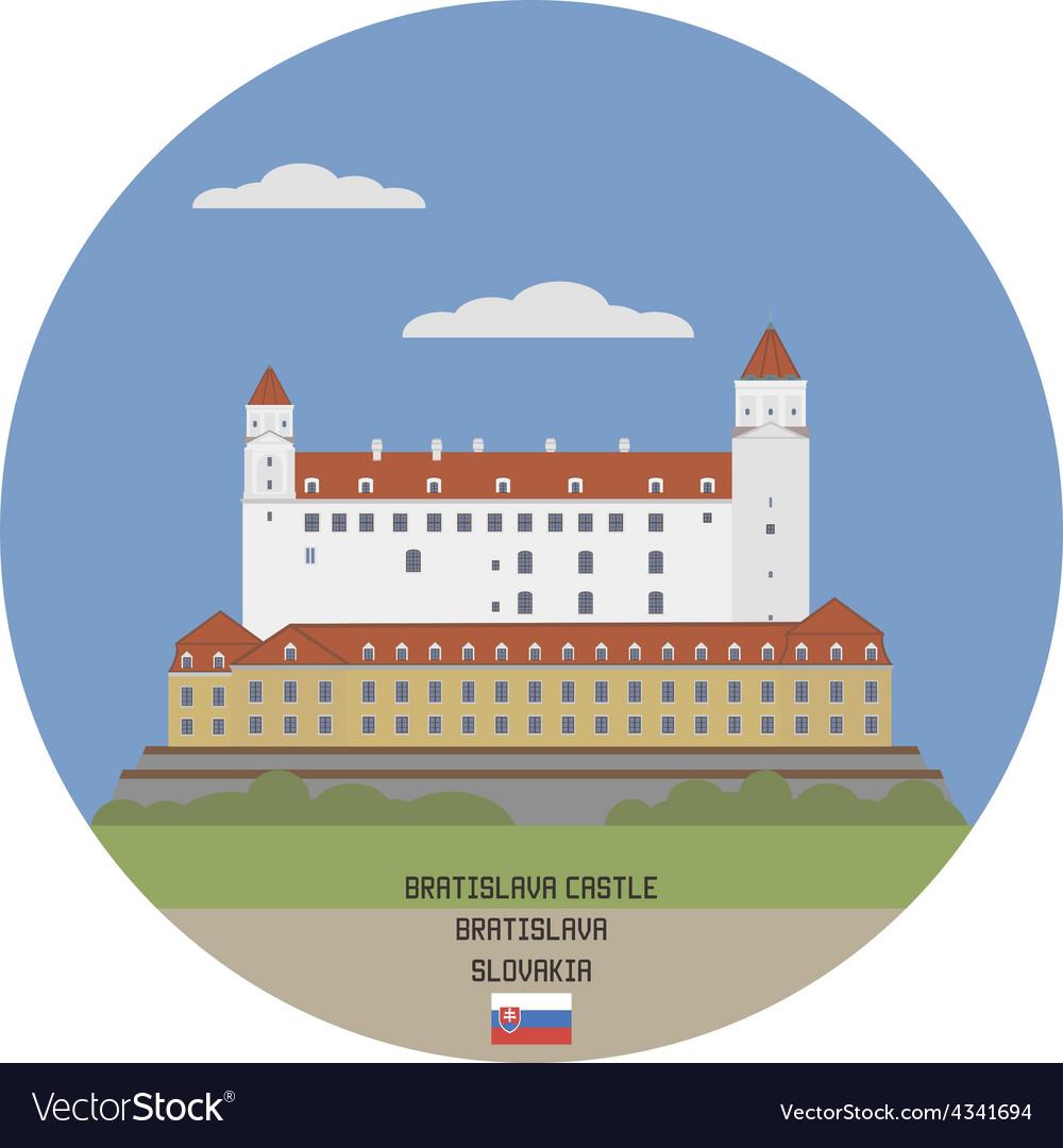 Bratislava castle vector   Price: 1 Credit (USD $1)