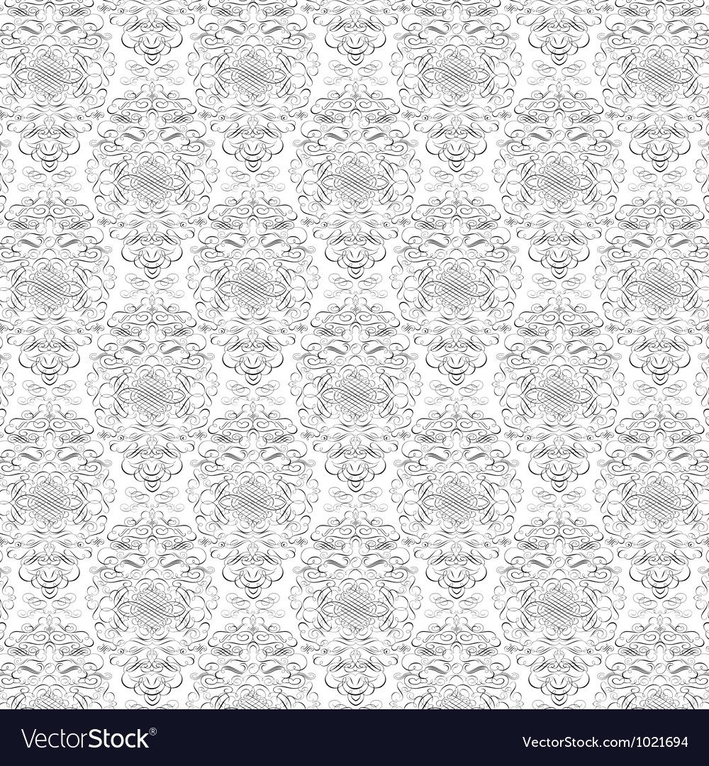 Floral ornament pattern vector   Price: 1 Credit (USD $1)