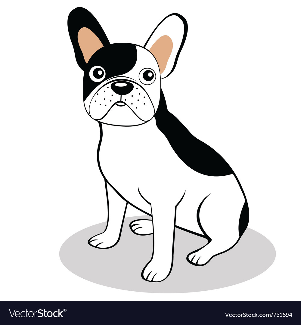 French bulldog vector | Price: 1 Credit (USD $1)