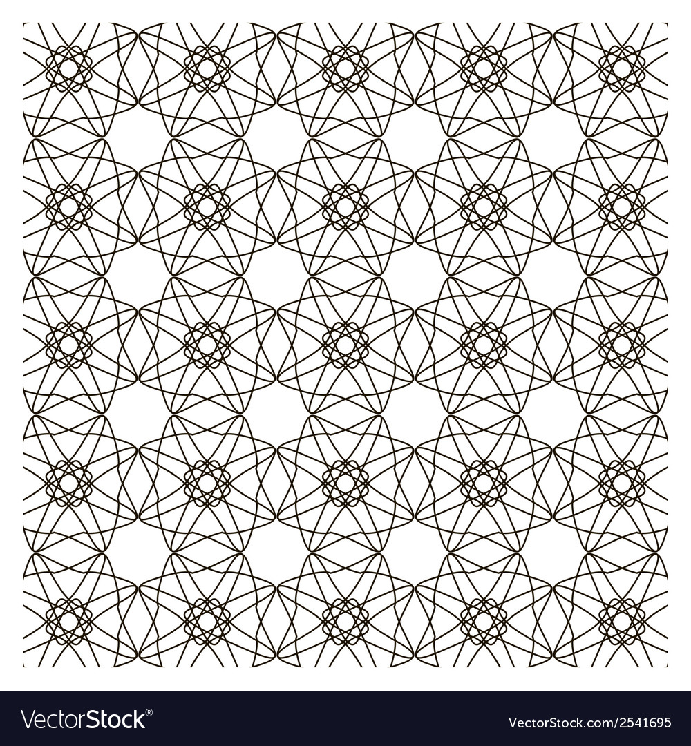 Abstract vintage geometric wallpaper pattern vector   Price: 1 Credit (USD $1)