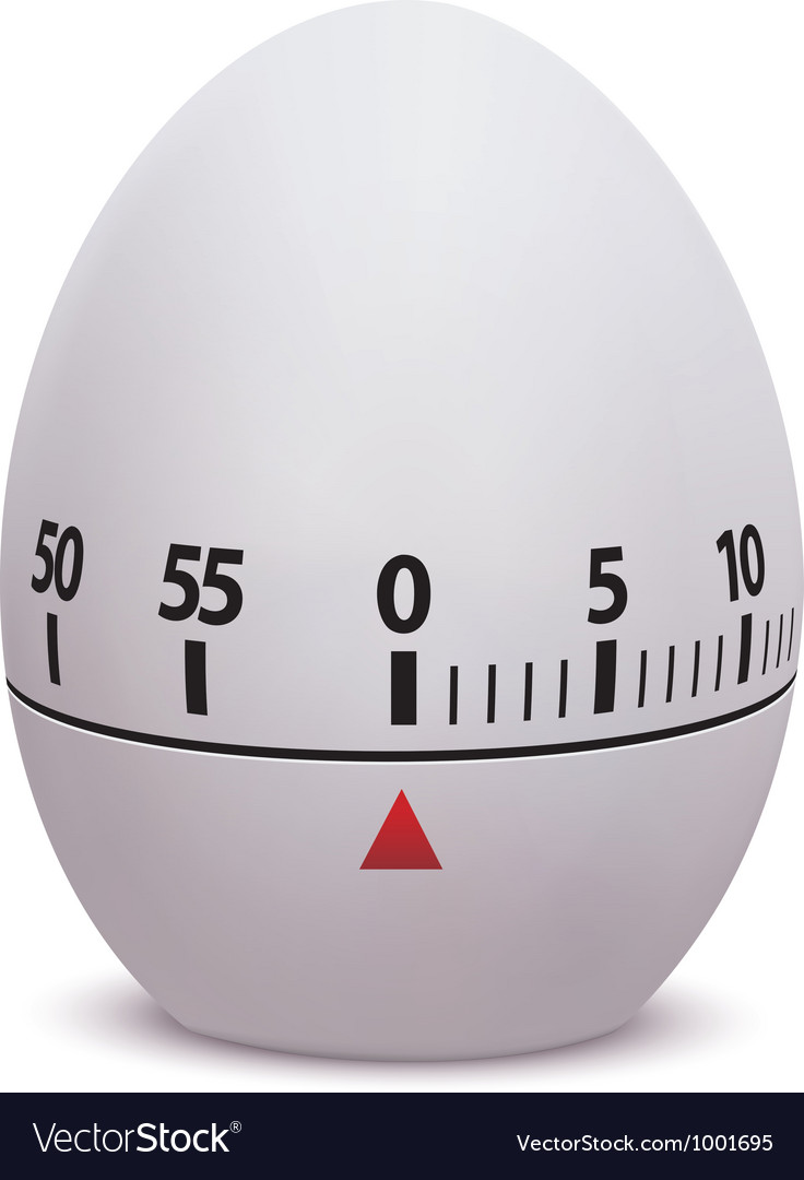 Egg timer vector | Price: 1 Credit (USD $1)