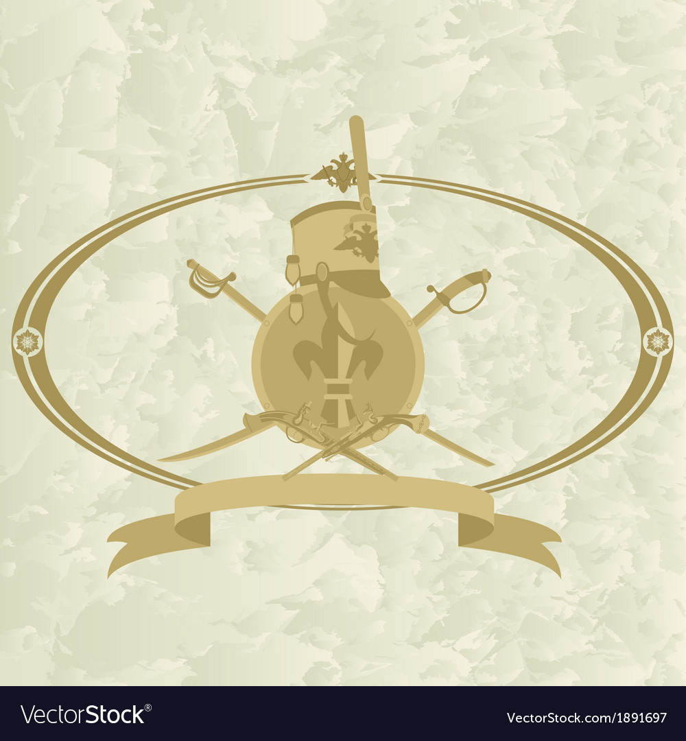 Hussar emblem-2 vector | Price: 1 Credit (USD $1)