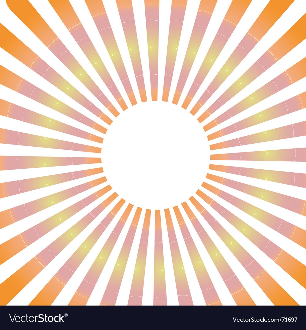 Sunbeam vector | Price: 1 Credit (USD $1)