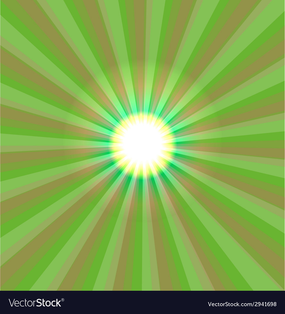 Abstract green light vector | Price: 1 Credit (USD $1)