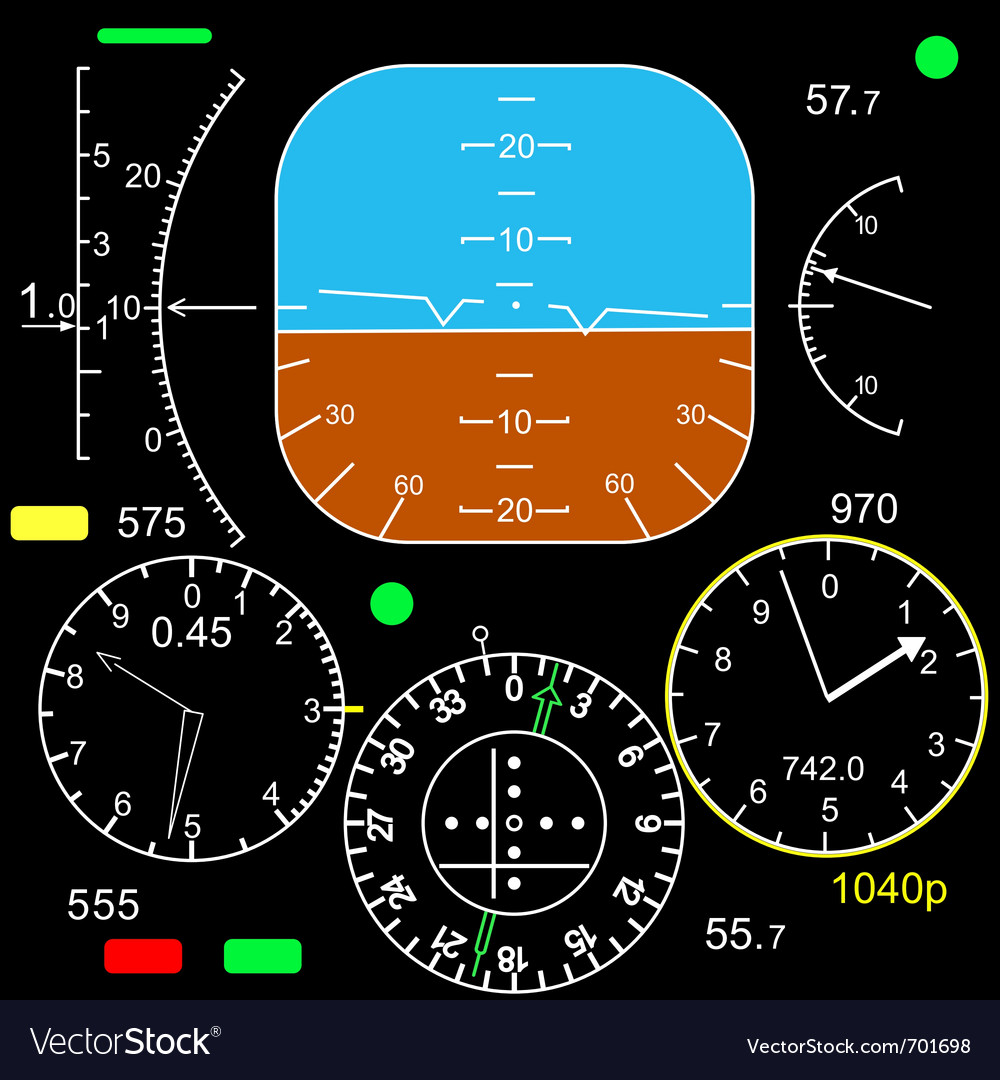 Control panel vector | Price: 1 Credit (USD $1)