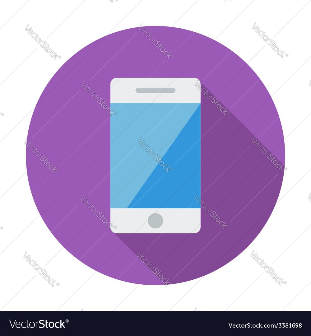 Smartphone single icon vector | Price: 1 Credit (USD $1)