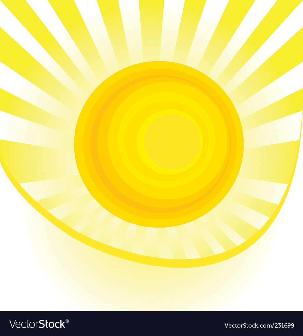 Abstract sun vector | Price: 1 Credit (USD $1)
