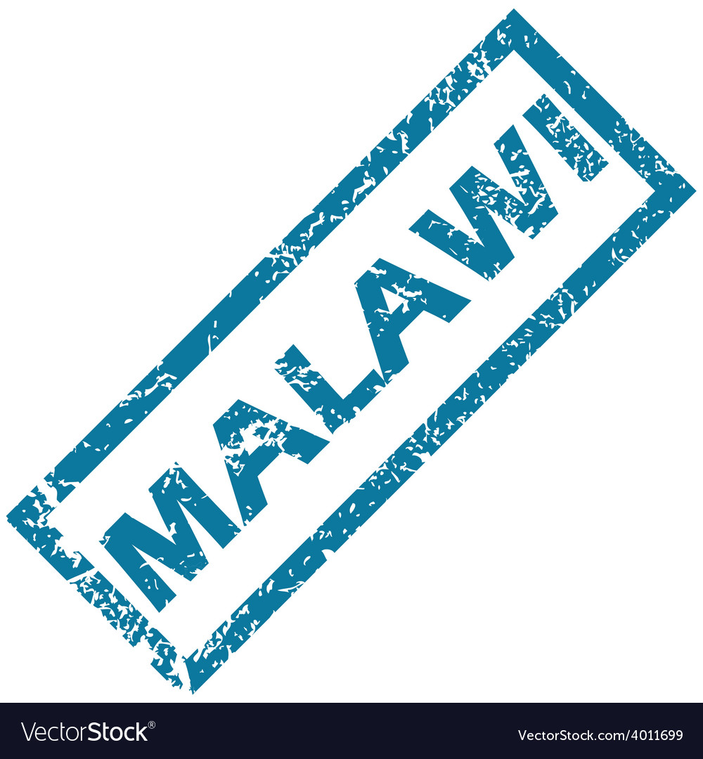 Malawi rubber stamp vector | Price: 1 Credit (USD $1)