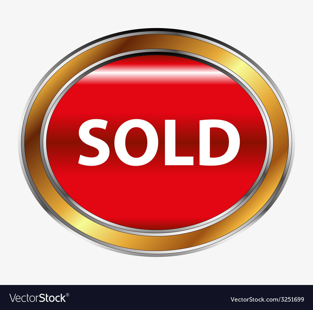 Sold button vector   Price: 1 Credit (USD $1)