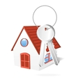 House with a keys vector