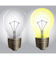 On and off lights vector