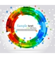 Abstract circle background colorful illustration vector