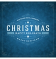 Christmas retro typography and light with vector