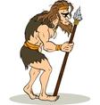 Ancient man vector